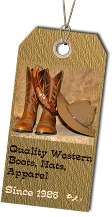Quality Western Boots, Hats, Apparel